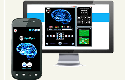 HighIQPro IQ Increase Neuroplasticity Software – Mobile & Desktop